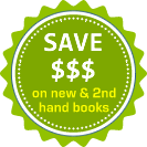 Save on new and second hand books